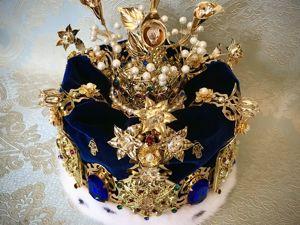 Корона «Ладошка Фатимы». Ярмарка Мастеров - ручная работа, handmade.