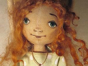 Простой способ окрашивания шерсти, или Как получить красивые локоны вашим куклам. Ярмарка Мастеров - ручная работа, handmade.