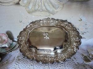 Красивая посеребрённая посуда для праздничного стола. Ярмарка Мастеров - ручная работа, handmade.