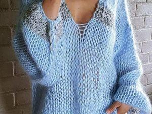 Скидка на свитер из мохера. Ярмарка Мастеров - ручная работа, handmade.