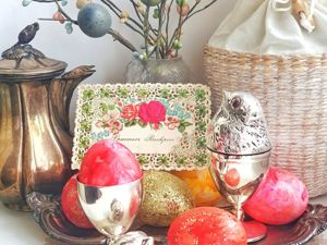 Идеи сервировки праздничного Пасхального стола. Ярмарка Мастеров - ручная работа, handmade.
