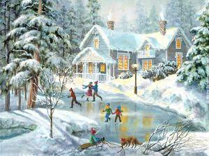 Добро пожаловать на Зимние Забавы в Новой Англии!. Ярмарка Мастеров - ручная работа, handmade.