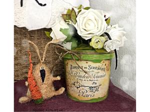 Превращаем майонезное ведерко в цветочное кашпо. Ярмарка Мастеров - ручная работа, handmade.