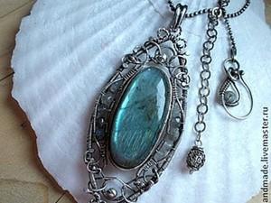 """Queen's Mirror "" - Kaк возникал королевский кулон. Ярмарка Мастеров - ручная работа, handmade."