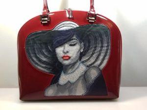Авторская модель сумочки для вышивки. Ярмарка Мастеров - ручная работа, handmade.