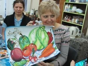 Видео мастер-класс: быстрый натюрморт из овощей. Ярмарка Мастеров - ручная работа, handmade.