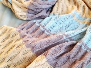 Делаем шарф-палантин на вязальной машине. Ярмарка Мастеров - ручная работа, handmade.