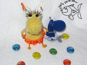 Мастер-класс: вязаные тараканчики. Ярмарка Мастеров - ручная работа, handmade.