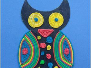 Мастер-класс для детей: сова из пластилина. Ярмарка Мастеров - ручная работа, handmade.