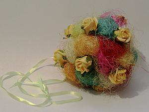 "Мастер-класс ""Сизалевый шар"". Ярмарка Мастеров - ручная работа, handmade."