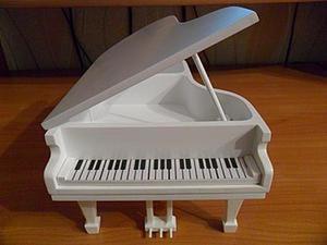 Изготовление шкатулки в виде рояля. Ярмарка Мастеров - ручная работа, handmade.