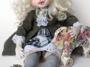 Текстильная кукла. Ярмарка Мастеров - ручная работа, handmade.