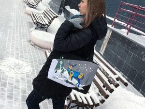 Яркий аксессуар снежной зимой. Ярмарка Мастеров - ручная работа, handmade.