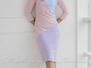 Аукцион на Комфортное платье в спортивном стиле ! Старт 2500 руб.!!. Ярмарка Мастеров - ручная работа, handmade.
