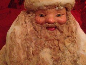 Реставрируем подставочного советского Деда Мороза. Ярмарка Мастеров - ручная работа, handmade.