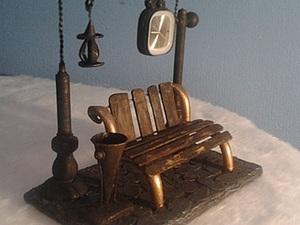 Создаем необычные часы «В парке». Ярмарка Мастеров - ручная работа, handmade.
