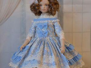 Завиваем кудряшки кукле. Ярмарка Мастеров - ручная работа, handmade.