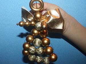 Ангел из бусин  для детей дошкольного и младшего школьного возраста. Ярмарка Мастеров - ручная работа, handmade.