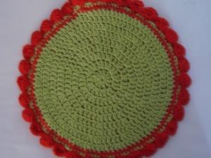 Учимся вязать крючком. Урок 10. Вязание по кругу столбиками с накидом. Ярмарка Мастеров - ручная работа, handmade.