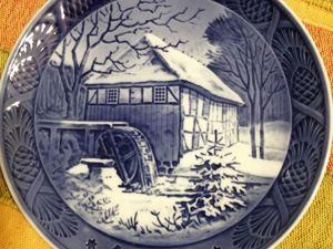 Скидка 20%на рождественские тарелочки, Дания!. Ярмарка Мастеров - ручная работа, handmade.