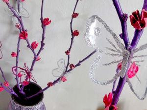 Делаем композицию из веток для вазы. Ярмарка Мастеров - ручная работа, handmade.