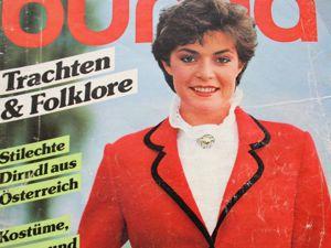 Бурда — спец. выпуск —  Традиционная мода- 1982. Ярмарка Мастеров - ручная работа, handmade.