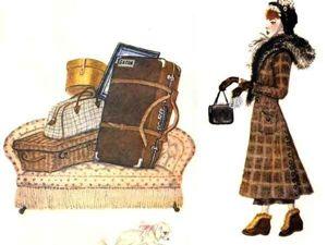 Дама сдавала в багаж. Ярмарка Мастеров - ручная работа, handmade.