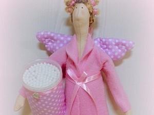 Тильда Банный Ангел. Ярмарка Мастеров - ручная работа, handmade.