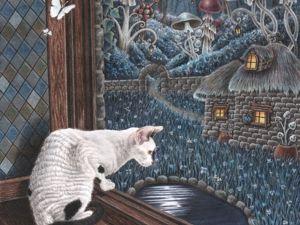 Вид из нашего окна. Ярмарка Мастеров - ручная работа, handmade.