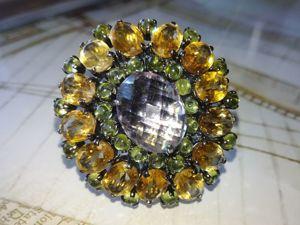 Акция! Чудесное кольцо  «Маркиза Помпадур». Ярмарка Мастеров - ручная работа, handmade.