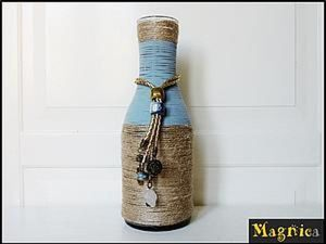 How to Make a Vase out of a Bottle. Livemaster - handmade