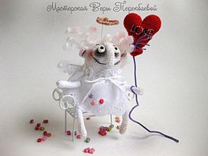 """Вяжем куколку """"Ангел Сердешный"""". Ярмарка Мастеров - ручная работа, handmade."""
