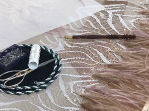 Как вышивать мононитью люневильским крючком. Ярмарка Мастеров - ручная работа, handmade.