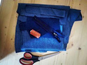 Вечно модные джинсы, новый заказ. Ярмарка Мастеров - ручная работа, handmade.