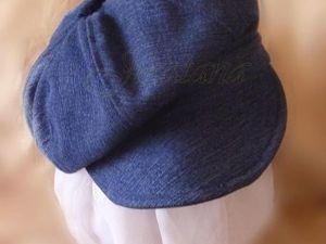 Шьем джинсовое кепи. Ярмарка Мастеров - ручная работа, handmade.