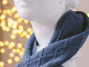 Предметная фотосессия — вязанные шарфы и варежки от Елены. Ярмарка Мастеров - ручная работа, handmade.