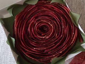 Новинка! Ягодный набор Алая роза. Ярмарка Мастеров - ручная работа, handmade.