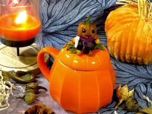 Делаем тыкво-монстриков к празднику. Halloween. Ярмарка Мастеров - ручная работа, handmade.