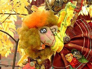 Создание куклы Сентябрины. Ярмарка Мастеров - ручная работа, handmade.