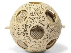 The Art of Stone Carving: Devil's Puzzle Balls. Livemaster - handmade