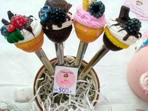 Вкусные ложечки с кексами 400 р — 1 шт. Ярмарка Мастеров - ручная работа, handmade.