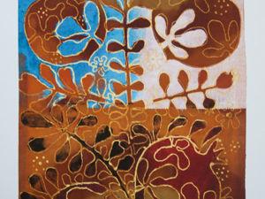 Батик в Грузии: орнамент и традиция. Интервью Katherine Hehuchadze. Ярмарка Мастеров - ручная работа, handmade.