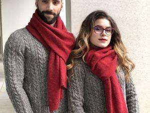 Распродажа! Свяжи шарф к Новому году! Новая игра!. Ярмарка Мастеров - ручная работа, handmade.