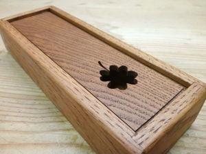 Мастер-класс: как сделать пенал из дуба к школе. Ярмарка Мастеров - ручная работа, handmade.