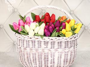 Тюльпаны искусственные в наличии!. Ярмарка Мастеров - ручная работа, handmade.
