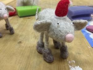 Отчет: мастер-класс по валянию мышки (08.12.2019). Ярмарка Мастеров - ручная работа, handmade.