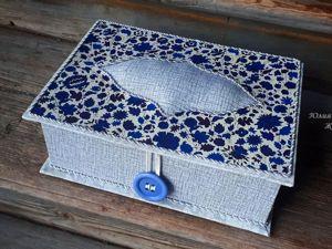 Делаем шкатулку для хранения ниток. Ярмарка Мастеров - ручная работа, handmade.