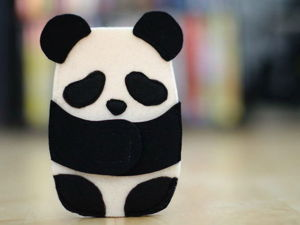 Popular Monochrome: 40 Interesting Pandaideas. Livemaster - handmade