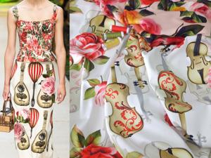 Бредовый сатин и плательная ткань. Ярмарка Мастеров - ручная работа, handmade.