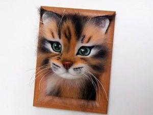 Мастер-класс: как свалять очаровательного котика. Ярмарка Мастеров - ручная работа, handmade.